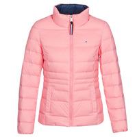 textil Dame Dynejakker Tommy Jeans MODERN DOWN JKT Pink