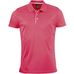 textil Herre Polo-t-shirts m. korte ærmer Sols PERFORMER MEN SPORT Rosa