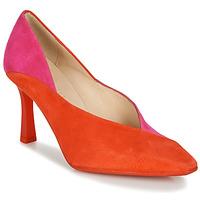 Sko Dame Højhælede sko Hispanitas PARIS-7 Rød / Pink