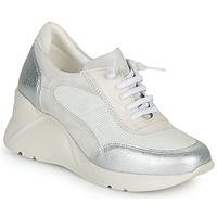 Sko Dame Lave sneakers Hispanitas TOKIO Hvid / Sølv