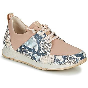 Sko Dame Lave sneakers Hispanitas KIOTO Beige / Blå