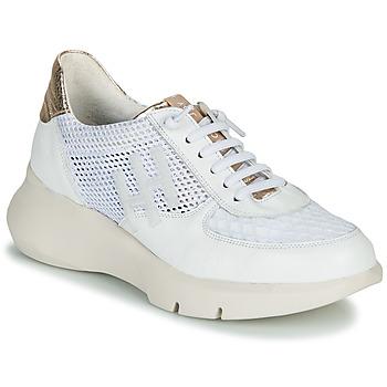 Sko Dame Lave sneakers Hispanitas CUZCO Hvid / Guld / Pink
