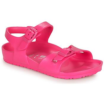 Sko Pige Sandaler Birkenstock RIO EVA Pink