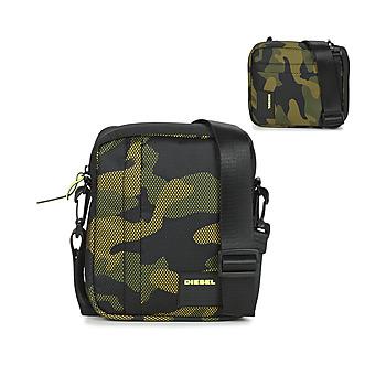 Tasker Herre bæltetasker & clutch  Diesel ODERZO Sort / Grøn