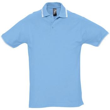 textil Herre Polo-t-shirts m. korte ærmer Sols PRACTICE GOLF SPORT Azul