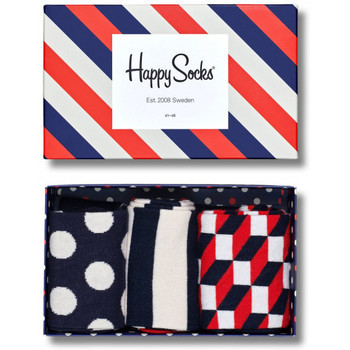 Accessories Herre Strømper Happy Socks Stripe gift box Flerfarvet