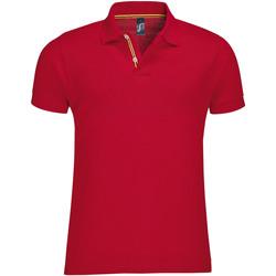 textil Herre Polo-t-shirts m. korte ærmer Sols PATRIOT FASHION MEN Rojo