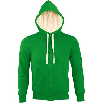 textil Dame Sweatshirts Sols SHERPA WINTER WOMEN Verde