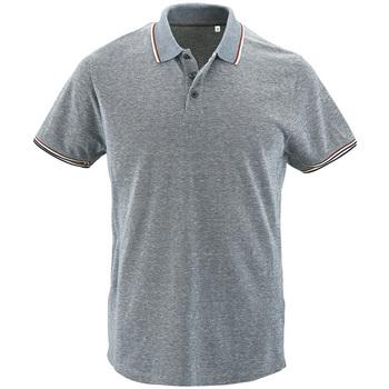 textil Herre Polo-t-shirts m. korte ærmer Sols PANAME CITY MEN Azul