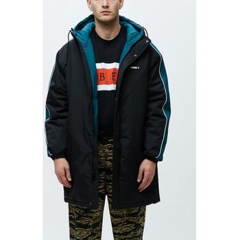 textil Herre Vindjakker Obey Major stadium jacket Sort