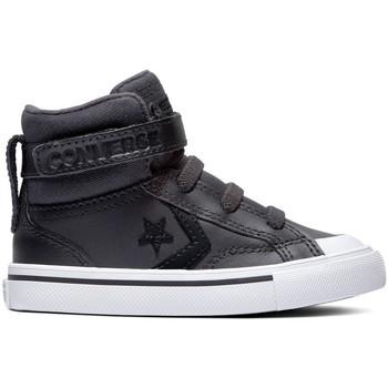 Sko Børn Høje sneakers Converse Pro blaze strap martian hi Sort