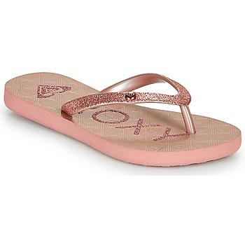 Sko Pige Klipklapper  Roxy VIVA GLTR III Pink