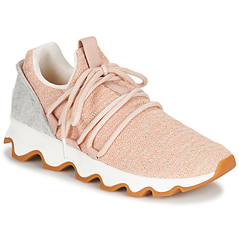 Sko Dame Lave sneakers Sorel KINETIC LACE Pink