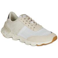 Sko Dame Lave sneakers Sorel KINETIC LITE LACE Hvid