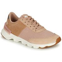 Sko Dame Lave sneakers Sorel KINETIC LITE LACE Beige / Pink