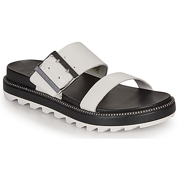 Sko Dame Sandaler Sorel ROAMING BUCKLE SLIDE Hvid