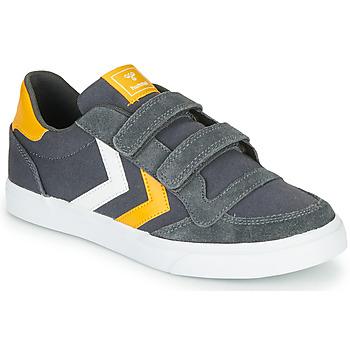 Sko Børn Lave sneakers Hummel STADIL LOW JR Grå