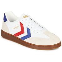 Sko Herre Lave sneakers Hummel VM78 CPH LEATHER Hvid / Rød / Blå