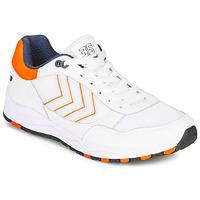 Sko Herre Lave sneakers Hummel 3-S SPORT Hvid / Orange