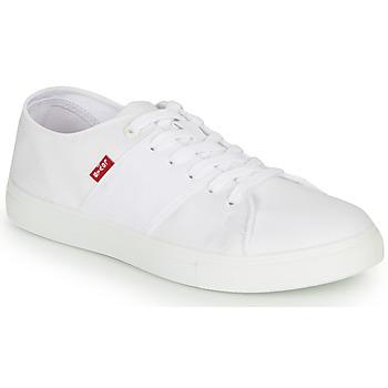 Sko Herre Lave sneakers Levi's PILLSBURY Hvid