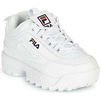 Sko Børn Lave sneakers Fila DISRUPTOR INFANTS Hvid