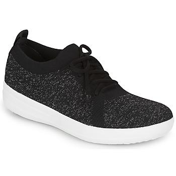 Sko Dame Lave sneakers FitFlop F-SPORTY UBERKNIT SNEAKERS Sort