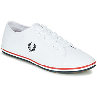 Sko Herre Lave sneakers Fred Perry KINGSTON TWILL Hvid
