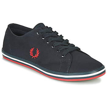 Sko Herre Lave sneakers Fred Perry KINGSTON TWILL Blå