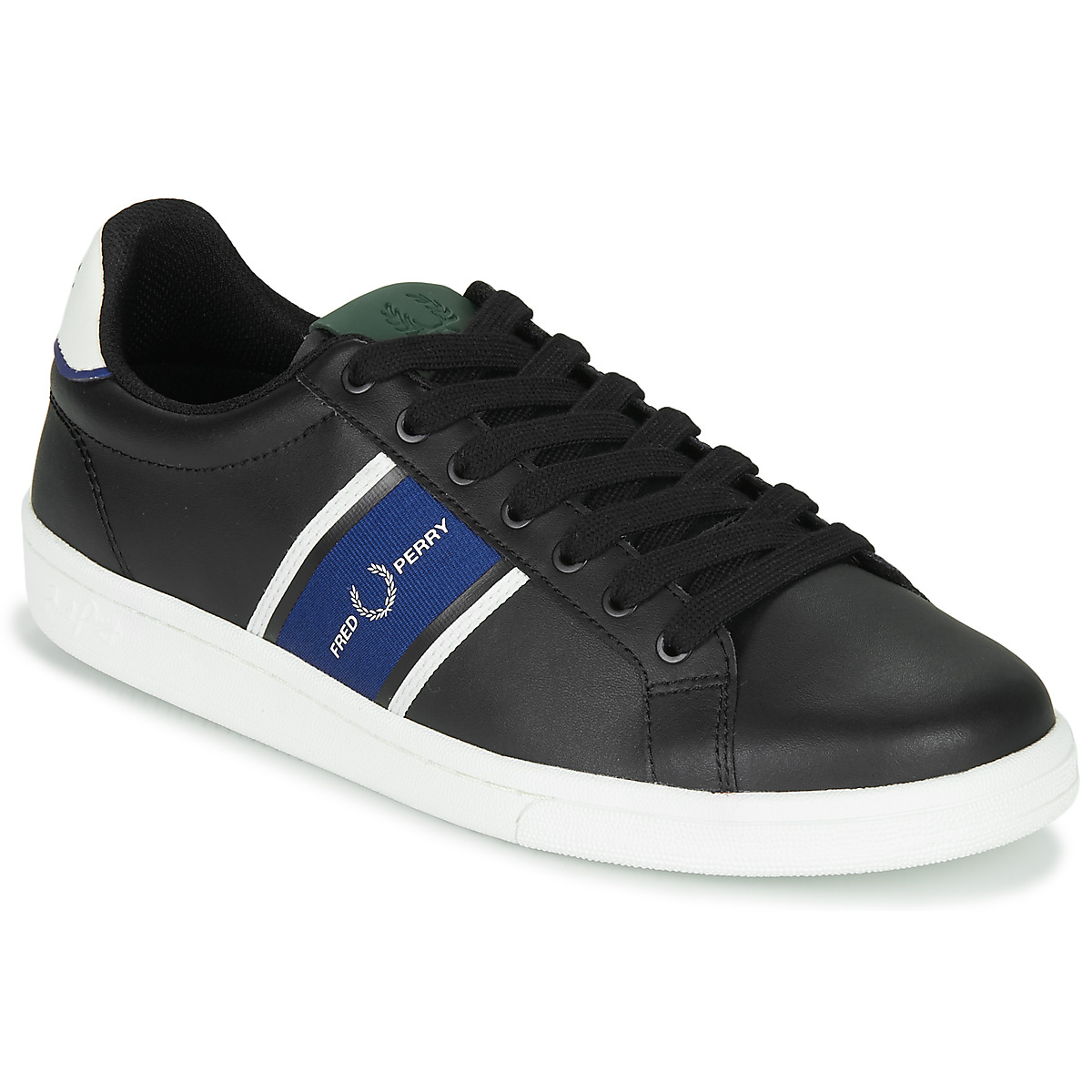 Sneakers Fred Perry  B721 LEATHER / WEBBING