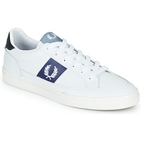 Sko Herre Lave sneakers Fred Perry B8198 LEATHER / WHITE / NAVY Hvid