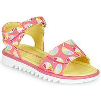 Sko Pige Sandaler Agatha Ruiz de la Prada SMILES Pink / Flerfarvet
