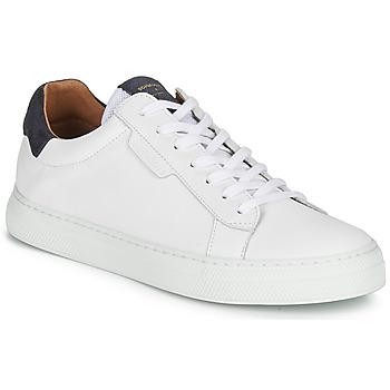 Sko Herre Lave sneakers Schmoove SPARK-CLAY Hvid / Blå