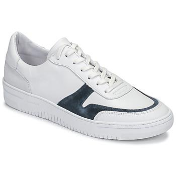 Sko Herre Lave sneakers Schmoove EVOC-SNEAKER Hvid / Blå