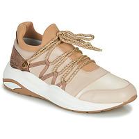 Sko Dame Lave sneakers Pataugas FRANCESCA Kamel