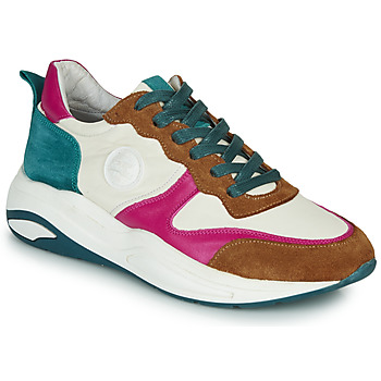 Sko Dame Lave sneakers Pataugas FRIDA Hvid / Flerfarvet
