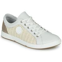Sko Dame Lave sneakers Pataugas JOHANA Beige / Gul