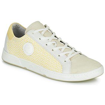 Sko Dame Lave sneakers Pataugas JUNE/N Fløde / Gul