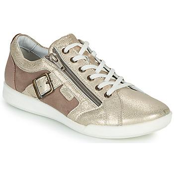 Sko Dame Lave sneakers Pataugas PAULINE/M Guld