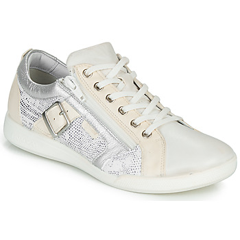 Sko Dame Lave sneakers Pataugas PAULINE/S Hvid / Sølv