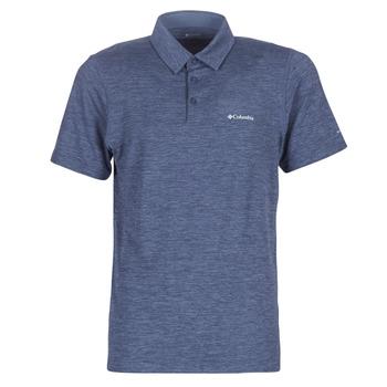 textil Herre Polo-t-shirts m. korte ærmer Columbia Tech Trail Polo Mørk