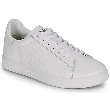 Sko Herre Lave sneakers Emporio Armani EA7 CLASSIC NEW CC Hvid