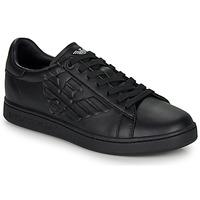 Sko Herre Lave sneakers Emporio Armani EA7 CLASSIC NEW CC Sort