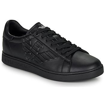 Sko Lave sneakers Emporio Armani EA7 CLASSIC NEW CC Sort