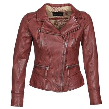 textil Dame Jakker i læder / imiteret læder Oakwood CAMERA Rød