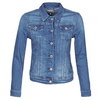 textil Dame Cowboyjakker Pepe jeans THRIFT Blå / Medium / Hb6