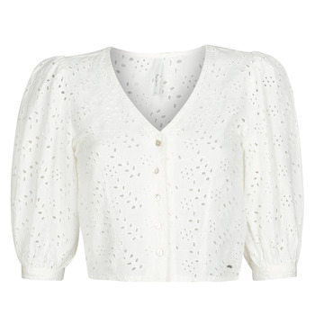 textil Dame Toppe / Bluser Pepe jeans CLAUDIE Hvid
