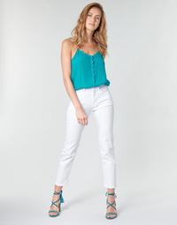 textil Dame Lige jeans Pepe jeans MARY Hvid