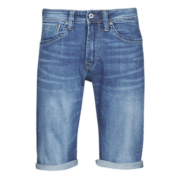 textil Herre Shorts Pepe jeans CASH Blå / Medium