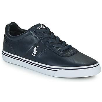 Sko Herre Lave sneakers Polo Ralph Lauren HANFORD-SNEAKERS-VULC Marineblå