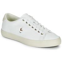 Sko Herre Lave sneakers Polo Ralph Lauren LONGWOOD-SNEAKERS-VULC Hvid